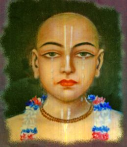 When it became difficult to call Krishna's name