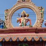 Why Hanuman is bound by chains in Jagannath Puri