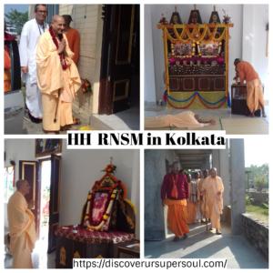 A day with HH Radhanath Swami Maharaj at Iskcon New Town, Kolkata