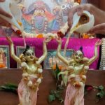 इस्कॉन न्यू टाउन कोलकाता में गौर पूर्णिमा उत्सव