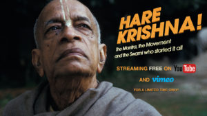Watch the movie 'HARE KRISHNA!' For Free (for limited time only)